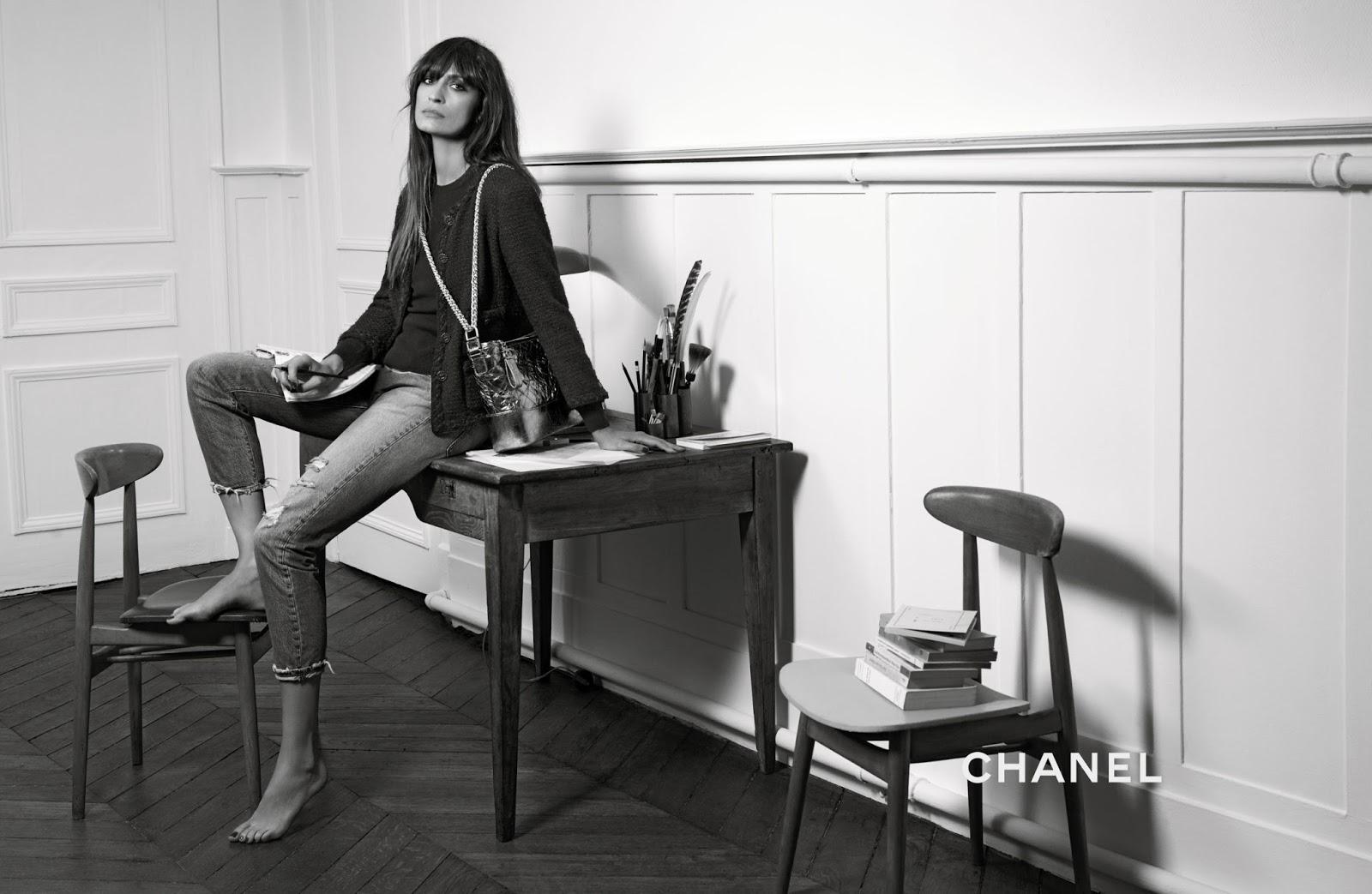 Caroline de Maigret's Chanel Gabrielle Bag Ad Campaign Video