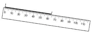 medir, índices, regua