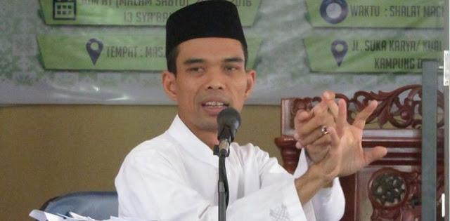 Jika Dibiarkan Persekusi Ustad Abdul Somad Dikhawatirkan Melebar
