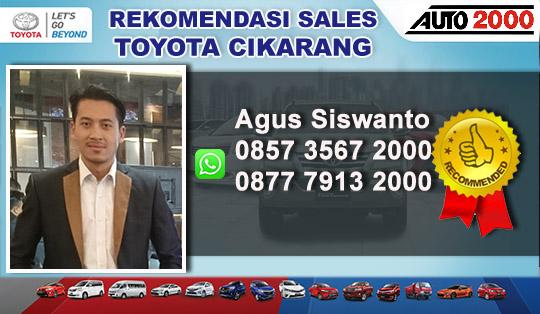 Rekomendasi Sales Toyota Cikarang