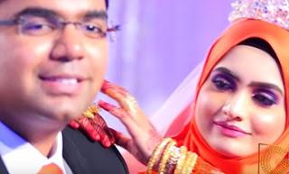 Malaysian Indian muslim wedding Reception