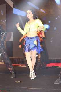 Sunny Leone Dancing on stage At Rogue Movie Audio Music Launch ~  338.JPG