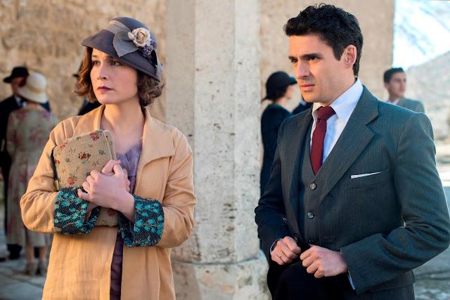 Nadia de Santiago en la tercera temporada de 'Las Chicas del Cable'