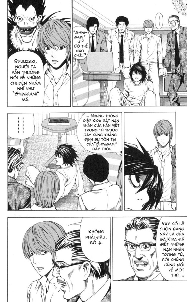 Death Note chapter 027 trang 3
