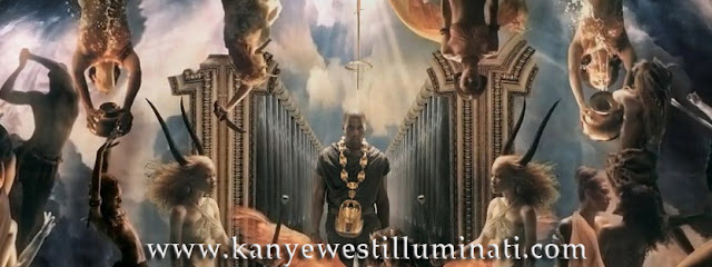 Power video still looks like painting everyone wants to know is Kanye West Illuminati.