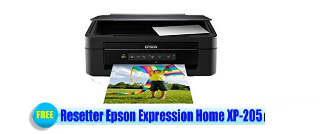 Epson  XP-205 Adjustment Program
