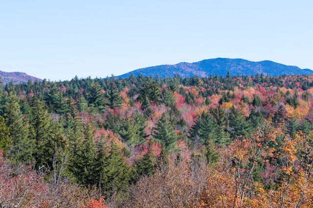 Foliage-Kancamagus Hwy e White mountains