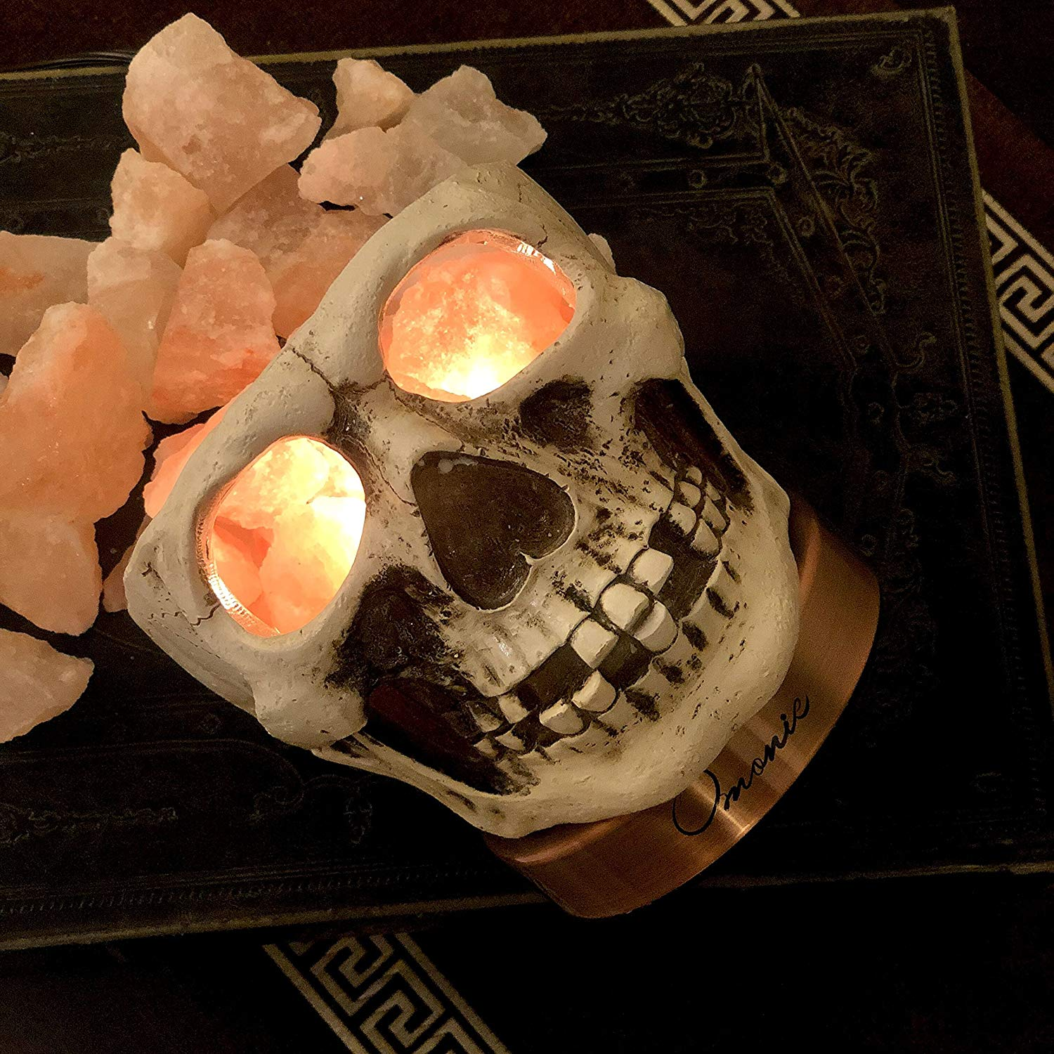 Tiffany's Online Finds and Deals: Unique salt lamp: Skull ...