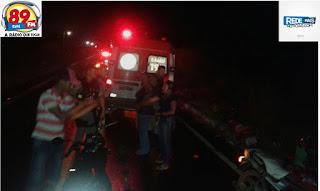 Mulher é atropelada na BR – 104 em Cuité; condutor do carro foge sem prestar socorro