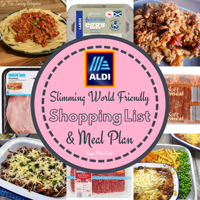 Slimming world aldi shopping list and meal plan, aldi slimming world meals, aldi slimming world, slimming world shopping list aldi, aldi slimming world meal plan, slimming world aldi