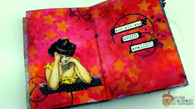 OOAK Artisans Mixed Media Art Journal Jenn Engle
