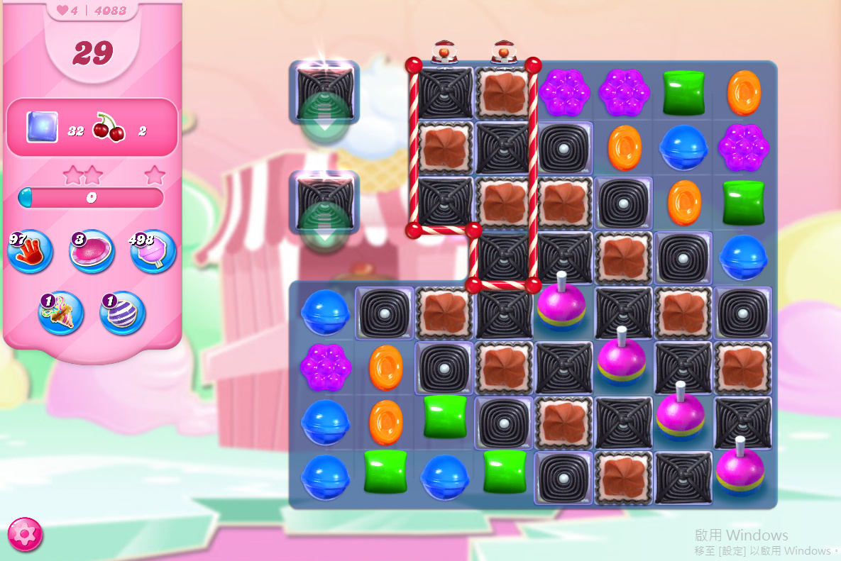 Candy Crush Saga level 4083