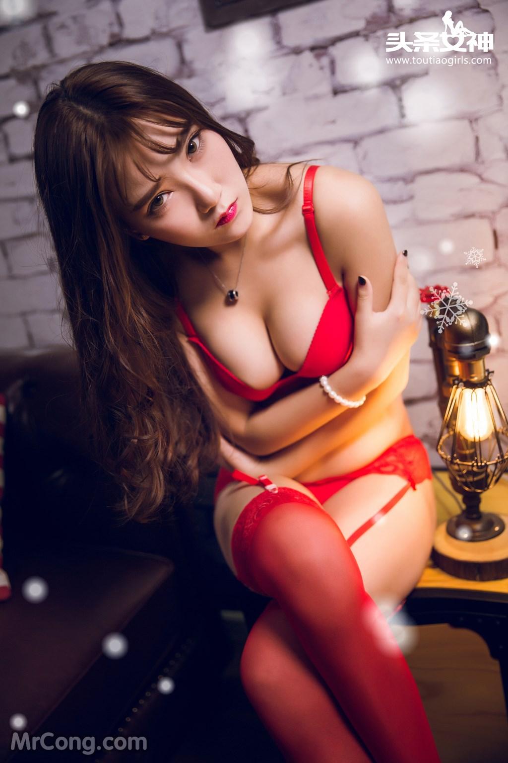 Image MrCong.com-TouTiao-2016-12-24-He-Jiao-Jiao-and-Yao-Yao-009 in post TouTiao 2016-12-24: Người mẫu He Jiao Jiao (何娇娇) và Yao Yao (药药) (41 ảnh)