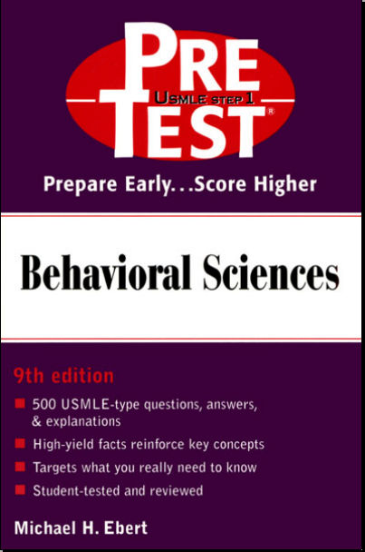 Pretest Behavioral Sciences 9th ed