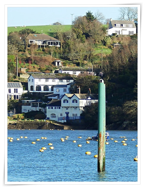 Boddinick Ferry by Ferryside the once home of Daphne Du Maurier