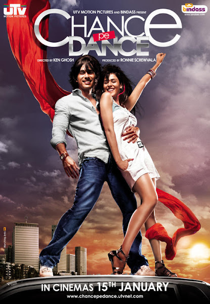 Poster Of Chance Pe Dance 2010 720p Hindi HDRip Full Movie Download