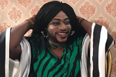 odunlade adekola wears wig movie