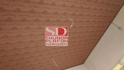 Pemasangan Plafon Pvc Shunda di Rumah Bapak Dokter Oti - Shunda Plafon