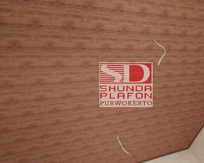 Pemasangan Plafon Pvc Shunda di Rumah Bapak Dokter Oti