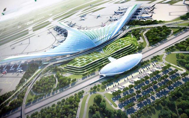 dự án airport new center long thành