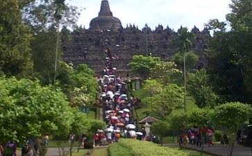 Wisata Candi Borobudur Magelang Jawa Tengah