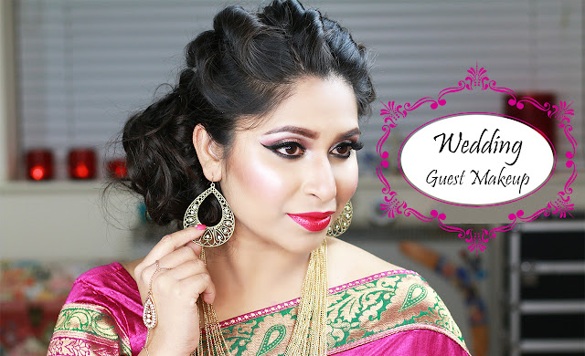 Shahnaz Shimul - Indian Bangladeshi South Asian Wedding Guest Makeup Look