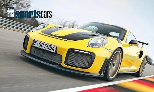 Porsche 911 GT2 RS marcó récord Sachsenring