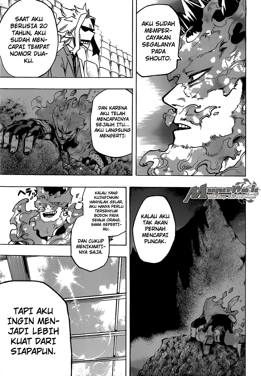 Boku no Hero Academia Chapter 165