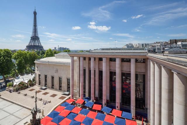 Exterior do Palais de Tokyo em Paris