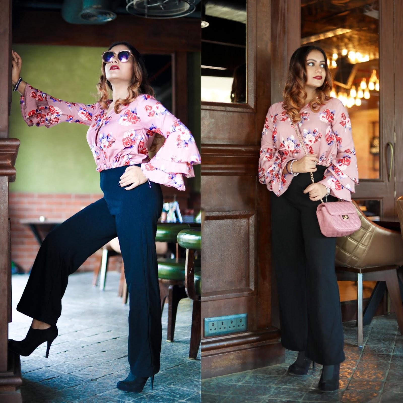 dd940bdb6e top : Sarojini   pants : Shein   booties : Forever21   bag : Max Fashion    sunglasses : Miniso   bracelets : Local Market