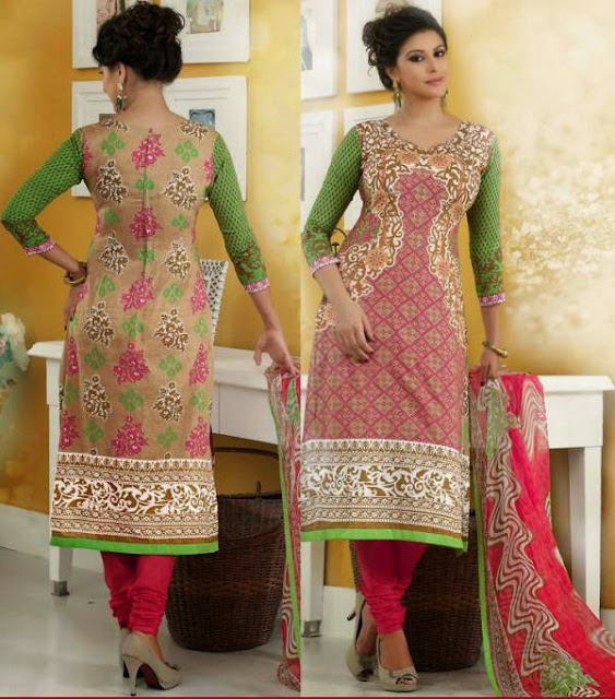 LATEST PUNJABI SUITS DESIGN SALWAR KAMEEZ BOUTIQUE TYPE DRESS