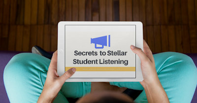 Can you hear me? Free online training for teachers that will show you how to infuse better listening and following direction skills in your classroom! Includes a certificate of attendance for those needing continuing ed credits too!