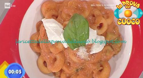 Anellini con pecorara di zucchine ricetta Improta da Prova del Cuoco