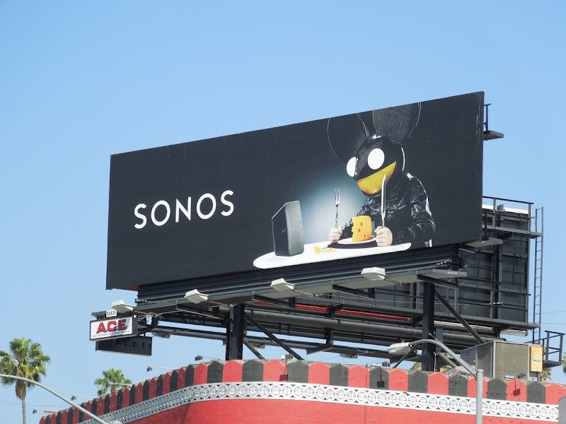 Sonos Deadmau5 billboard Whisky A GoGo