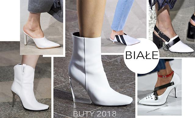 Modne buty 2018 kolory damskie