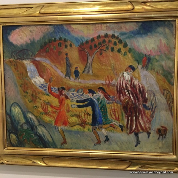 """Children Roller Skating"" by William J. Glackens at NSU Art Museum in Fort Lauderdale, Florida"