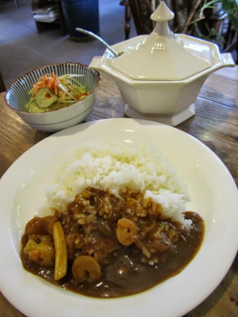 Curry Seafood Mix Gaucho Towada Cafe カレーシーフードミックス ガウチョ 十和田市 カフェ