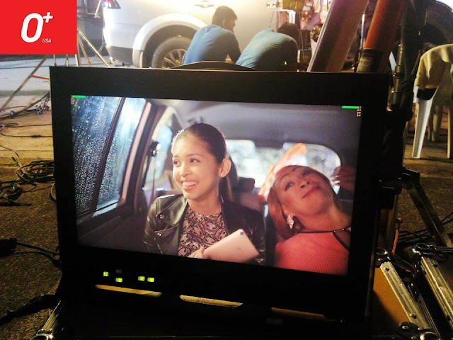 Lola Nidora and Yaya Dub stucked in a traffic as part of O+ USA TV ad
