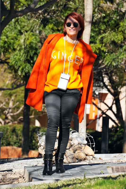Almamodaaldia - Look Naranja