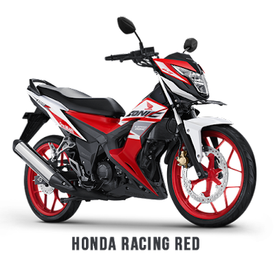 New Honda Sonic 150R Racing Red