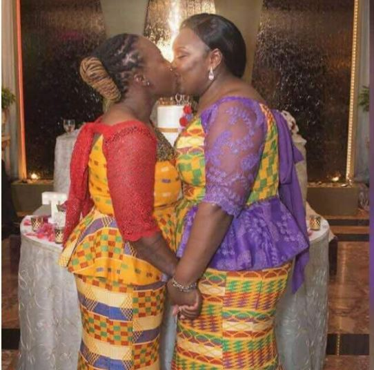 Photos Of 2 Ghanaian Lesbian Partner Getting Married In Holland Has Gone Viral