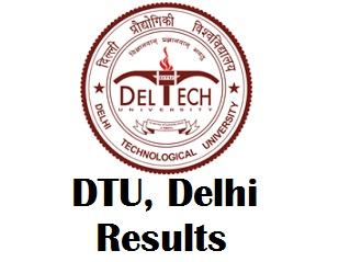 DTU Final Semester Result 2017