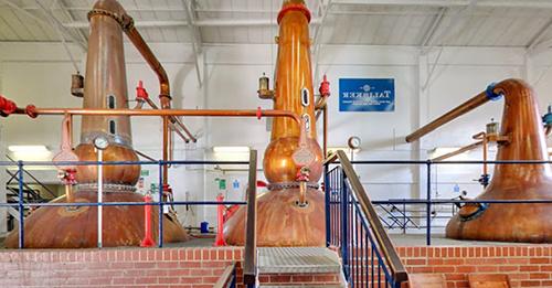 Talisker distillery.