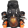 Ski Boot Backpack Team Pack - Black