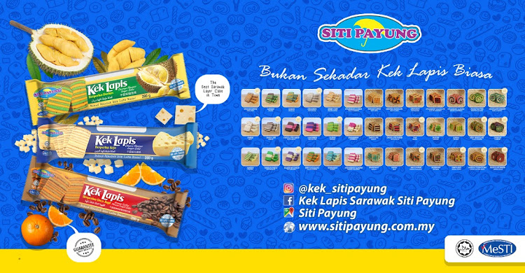 Siti Payung- Your Prefered Sarawak Layer Cakes.