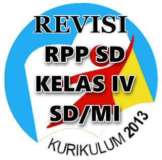 Contoh RPP Kurikulum 2013 Hasil Revisi Kelas 4 SD/MI