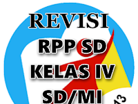 Contoh RPP Kurikulum 2013 Hasil Revisi Kelas 4 SD/MI Gratis