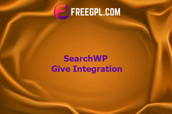 SearchWP Give Integration Nulled Download Free