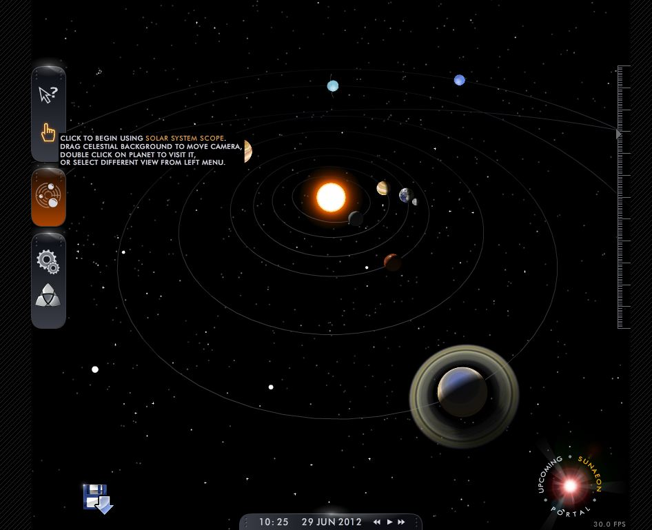 online 3d solar system explore - photo #28