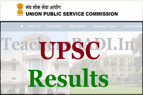 UPSC Results, UPSC Preliminary Exam Results,UPSC Main Exam results